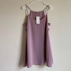🌵 NWT TOBI Pink Side Slotted Formal Dress